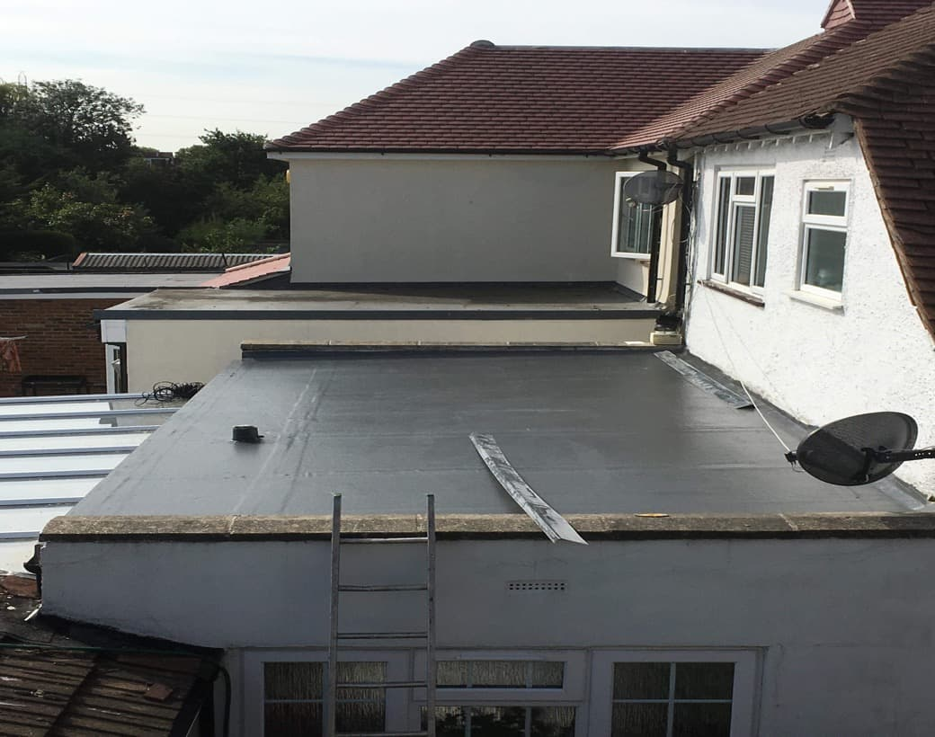 Flat Fibreglass roofing Repairs